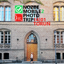 Plakat Nozbe Mobile Photo Trip w Toruniu