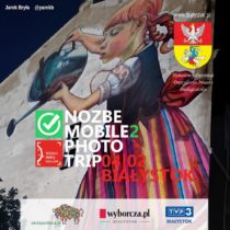 Plakat Nozbe Mobile Photo Trip 16|17 - Białystok
